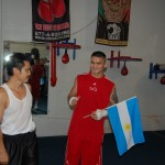 Steven Ho and Marcos Maidana‎