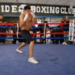 Victor Ortiz at Westside Boxing Club LA