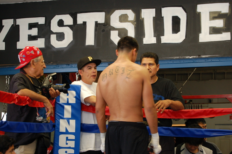 Victor Ortiz at Westside Boxing Club | Steven Ho Official Site