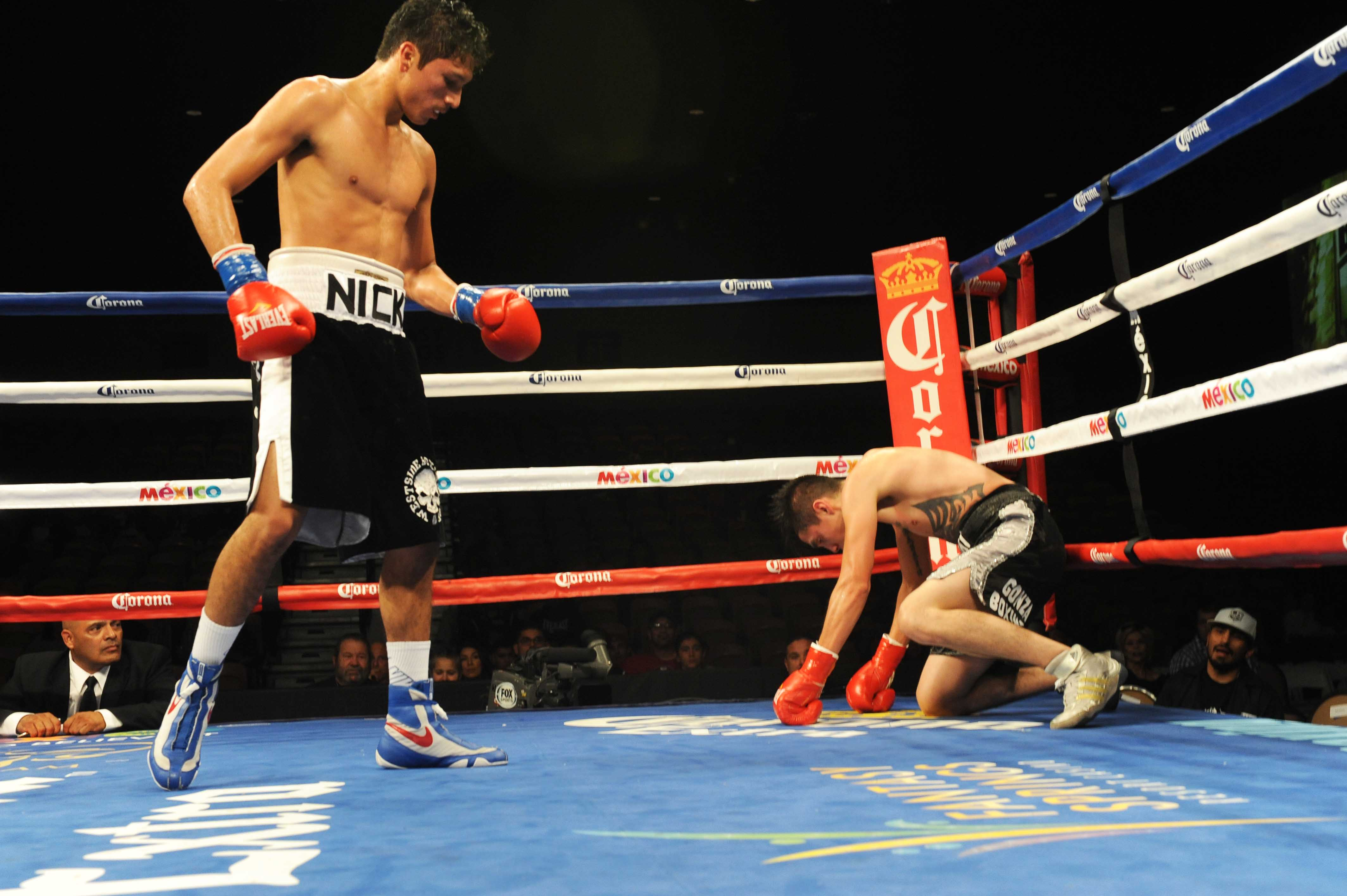 Nick Arce of Westside Boxing Club