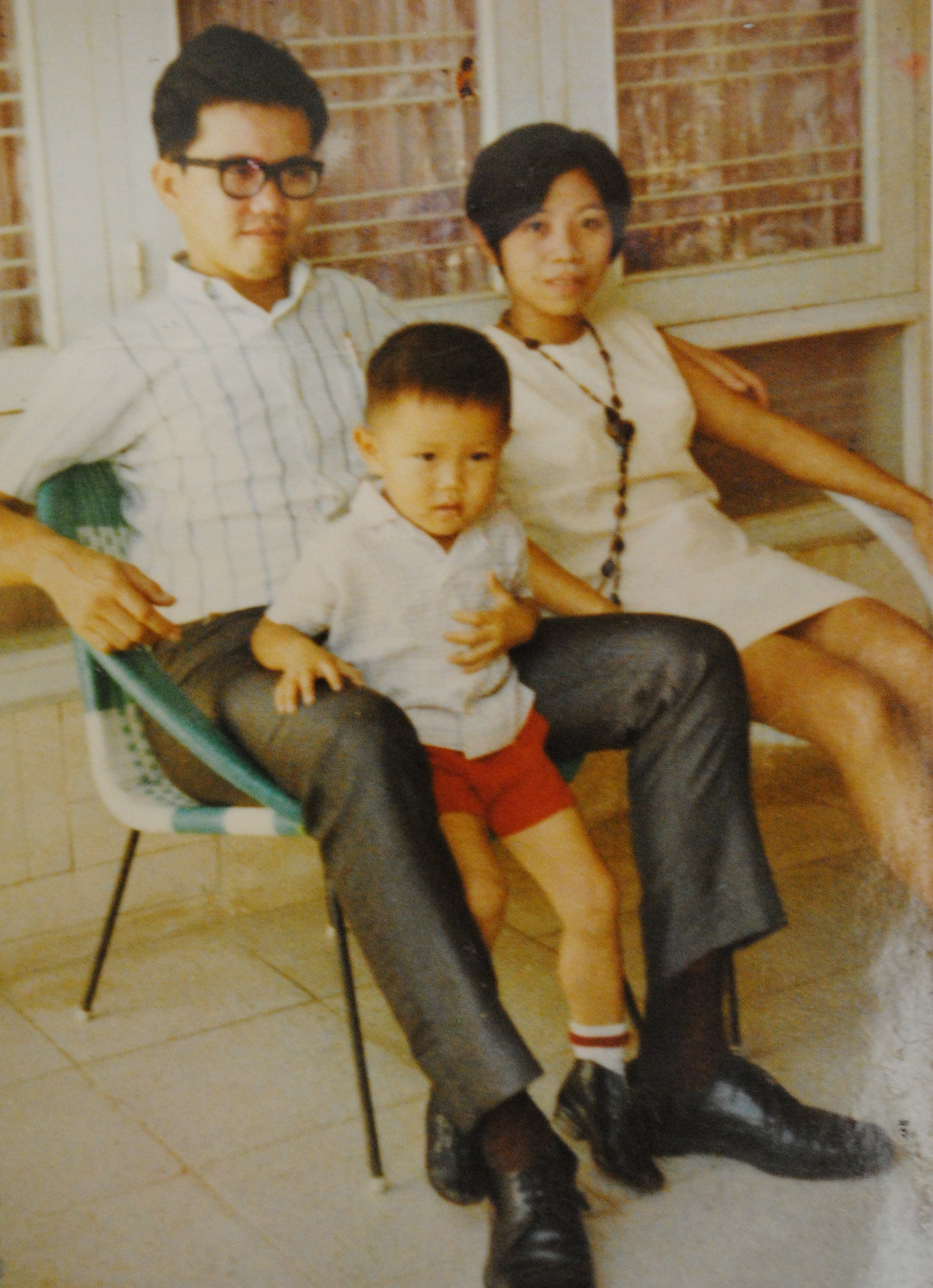 Steven Ho and parents